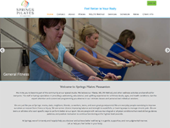 Springs Pilates website
