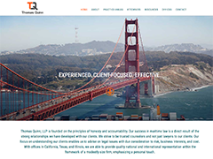 Thomas Quinn Law LLP website