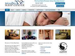 Tri-Valley Sleep Center website